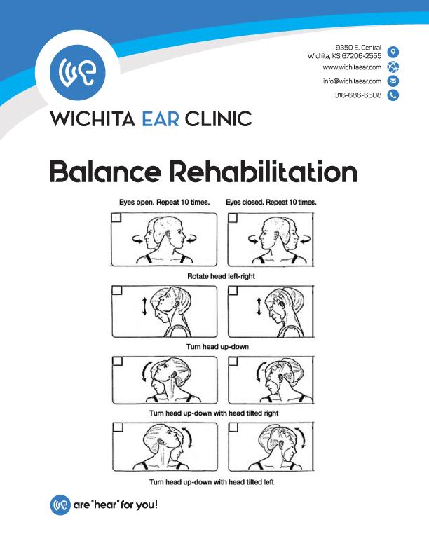Wichita Ear Balance Rehabilitation Neck Exercises